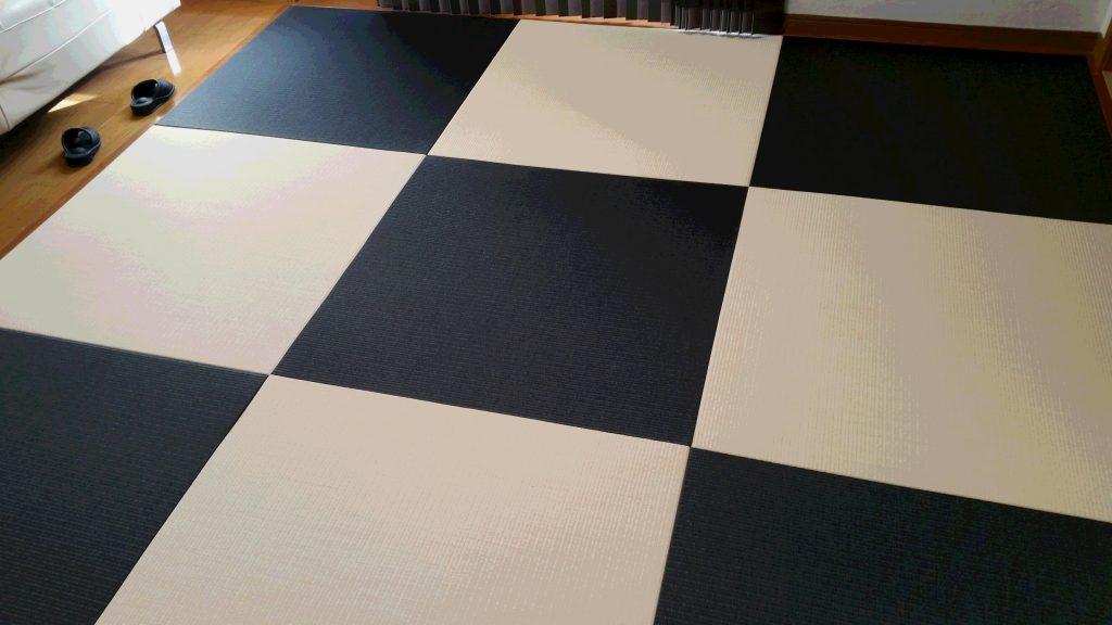 ダイケンカラー表使用、半畳琉球風畳
